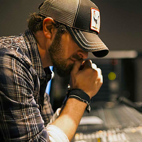 Custom WordPress web design for award winning songwriter Brian Davis in Nashville, Tennessee.