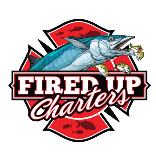 Custom WordPress web design for Fired Up Fishing Charters in Cape Canaveral, Florida.