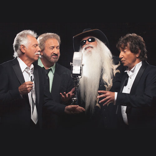 Custom WordPress web design for country and gospel music legends the Oak Ridge Boys.