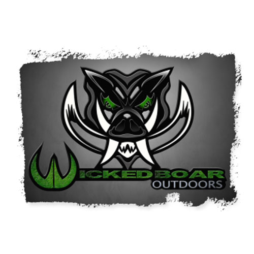 Custom WordPress web design for South Carolina hunting outfitter Wicked Boar Outdoors.